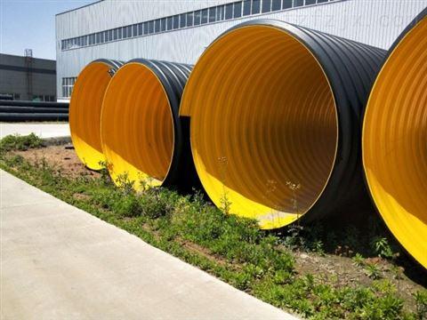 大口径�Z排水管 洛阳钢带波纹管
